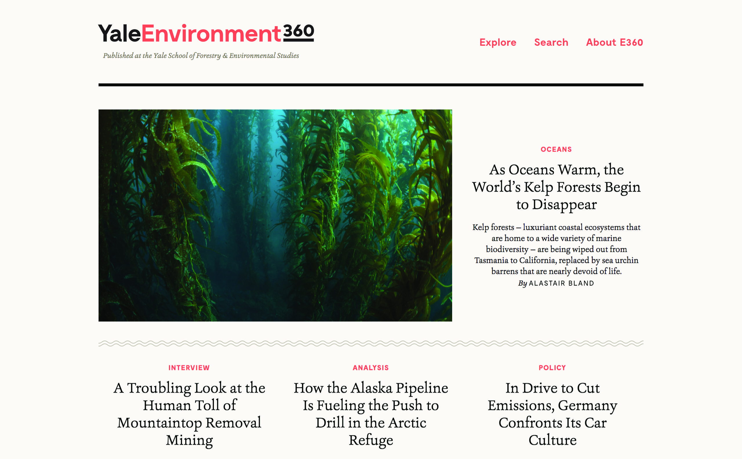 2c50826efe Yale Environment 360 - The List Of Design